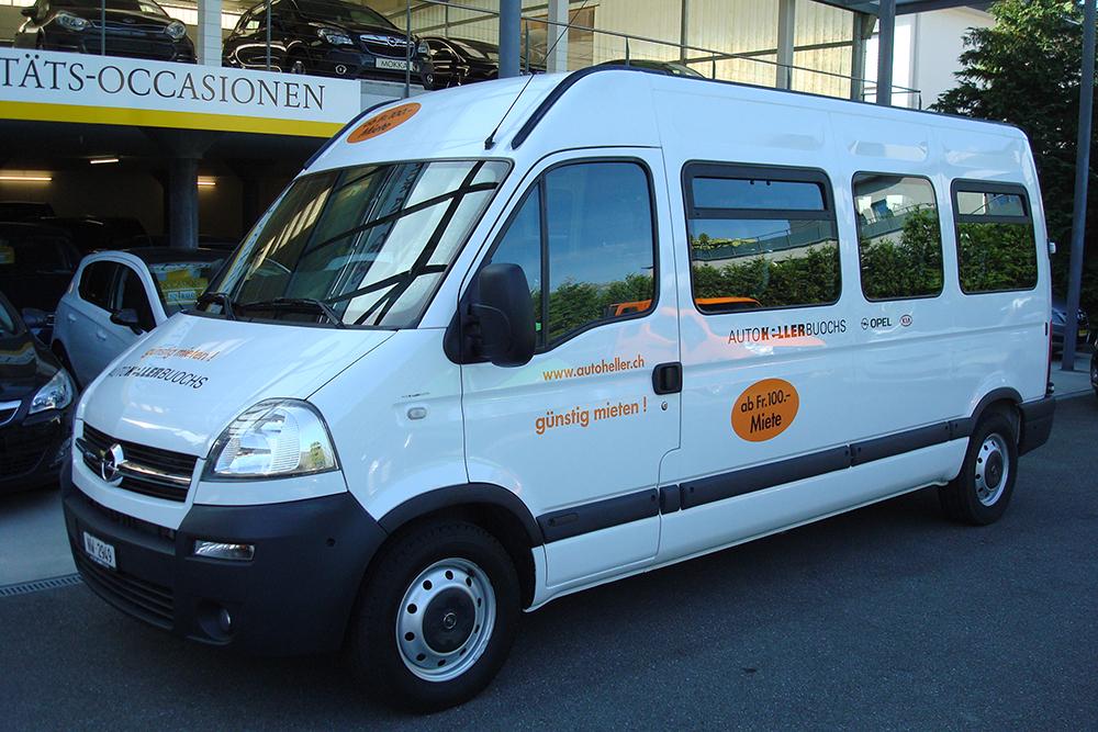 Opel Movano 15 Plätze-Bus